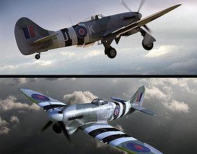 3D Hawker Tempest