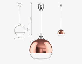 3D model Nowodvorski GLOBE COPPER I 5764 lamp
