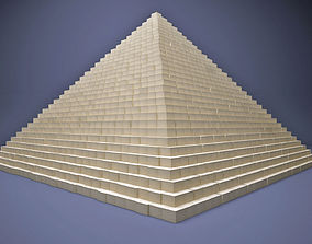 3D model The Great Pyramid Of Egypt