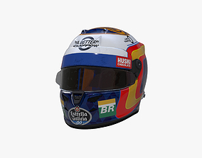 Sainz helmet 2019 3D asset