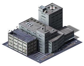 3D model Different dimension - building 05