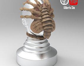 Facehugger Coffee Tamper 3D print model