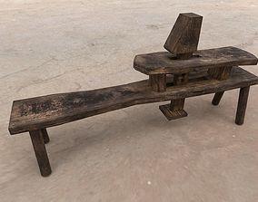 Medieval Carpenter Tool table 3D model