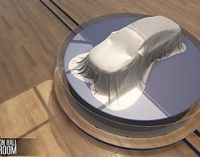 3D asset Exhibition hall - showroom