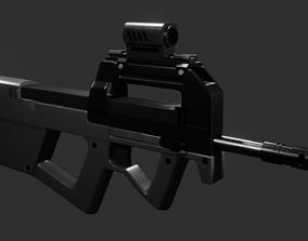 3D model Naudaff P90 SMG