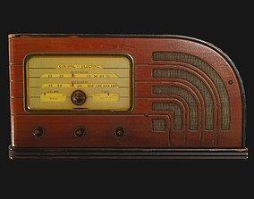 3D asset Old Radio Antiques