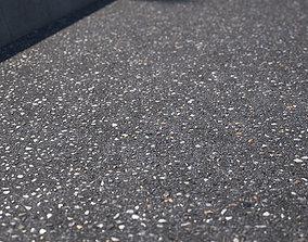 Large area seamless new asphalt texture 3D model