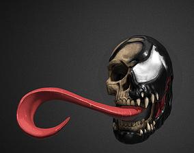3D printable model Venom Skull