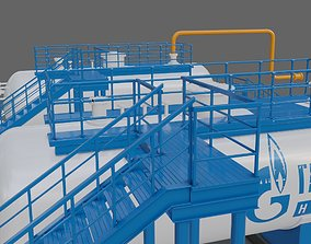 3D model C1-separator of Oil refinery