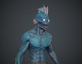 Drowned man 3D model