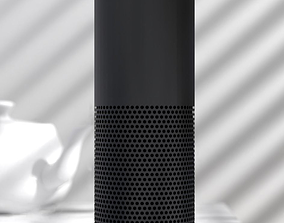 3D Amazon Echo Alexa