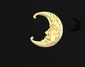 3D printable model the moon