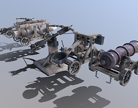 3D model Medieval Siege Pack