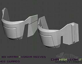 3D print model Bo Katan and Koska Reeves Cosplay Knee 2