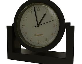 game-ready Desk Clock 3D Model