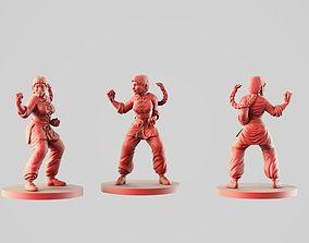 3D print model Xin martial arts teacher