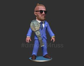 Conor McGregor 3D printable model