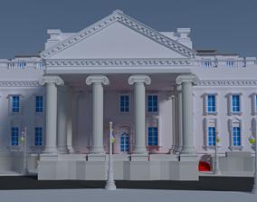 WHITE HOUSE 3D MODEL animated