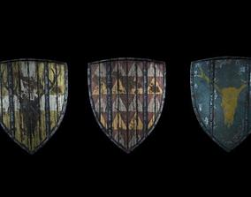 shield for honor 3D model