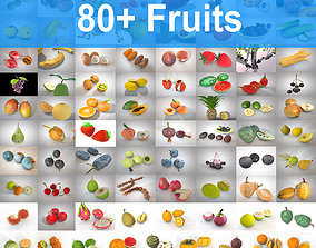 3D model 80 Plus Mega Fruits Collection