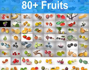 3D model 80 Plus Mega Fruits Collection