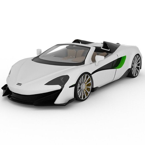 Mclaren 600lt 3D Model