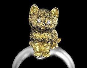 ring cat 3D print model