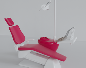 3D model Dental chair and equipment