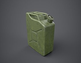 Jerry Can 3D model
