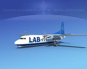 Fairchild FH-27 Lloyd Aereo Boliviano 1 3D model