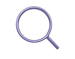 3D model Search Symbol v1 007