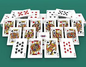 Playing Cards Chip Collection 3D printable model