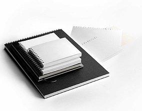 Notebooks Set 3D