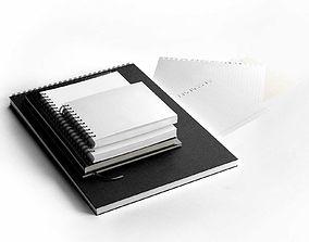 3D Notebooks Set