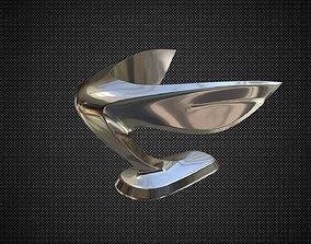 3D Hyundai Equus hood ornament