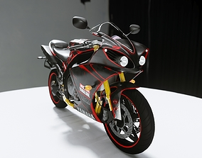 HQ Yamaha R1 3d model