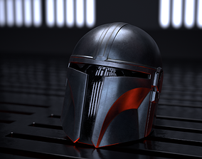 3D model The Mandalorian Helmet PBR