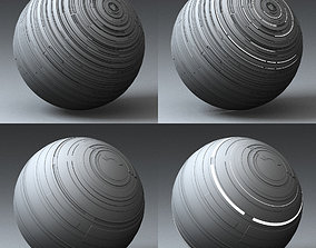 Syfy Displacement Shader F 3D model