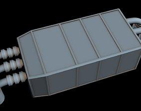 Starship part 40 3D model
