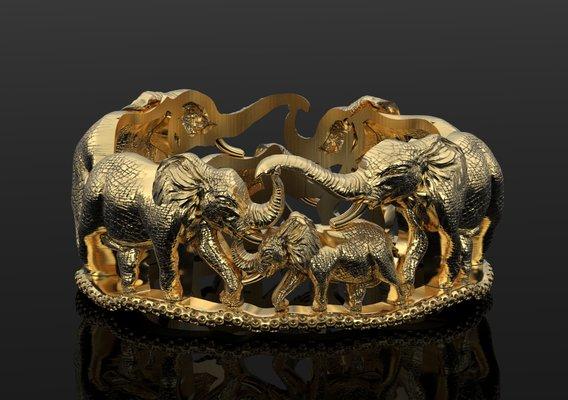Elephant family band