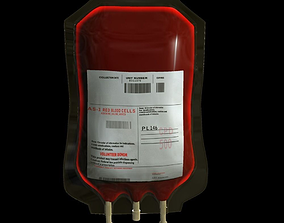 Blood Bag Medical 3D