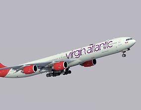 Airbus A340-600 Virgin Atlantic 3D model