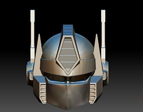 robot 3D print model Optimus Prime Helmet