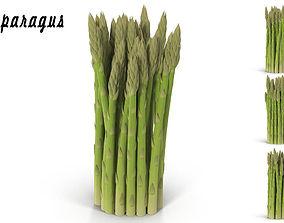3D model Asparagus