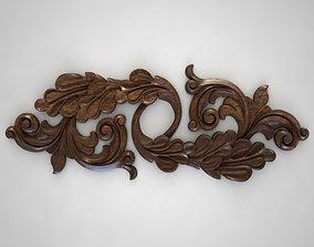 wood ornament 3D printable model