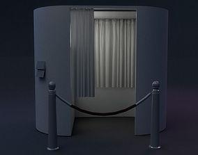 Photo Booth 3D asset