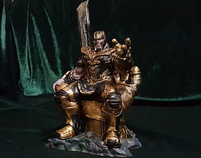 3D print model THANOS ON THE THRONE AVENGERS ENDGAME 1