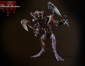 3D model animated DoomDemon1