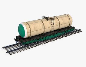 Tank wagon 3D model