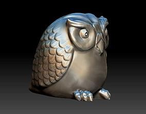 Owl Statue 3D print model